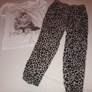 H&M shirt and pants outfit